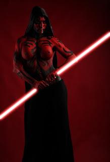 Sexy cosplay Star Wars