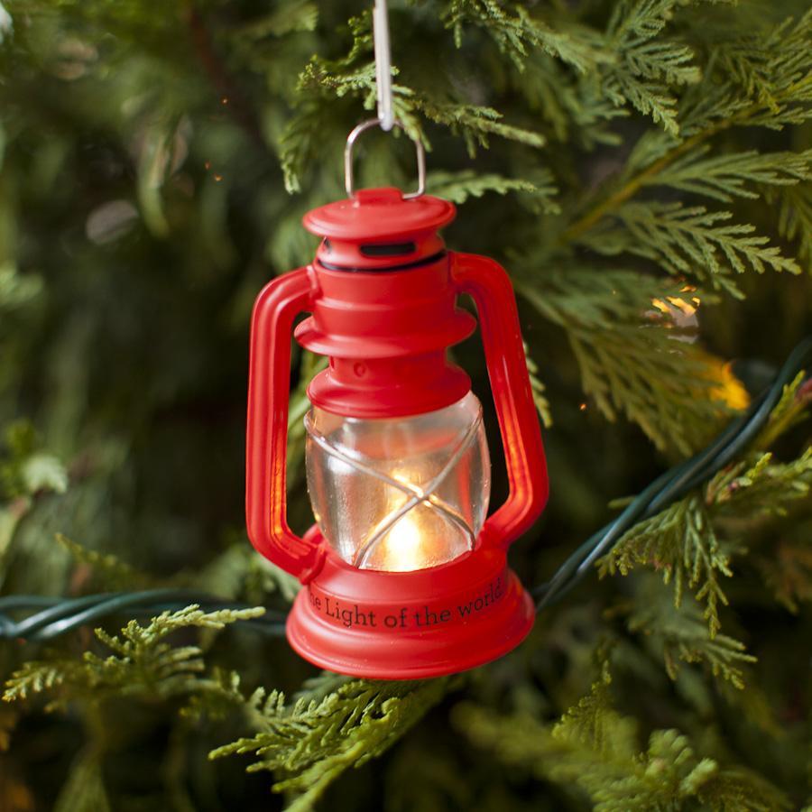 Red Lantern Christmas Ornament Dayspring