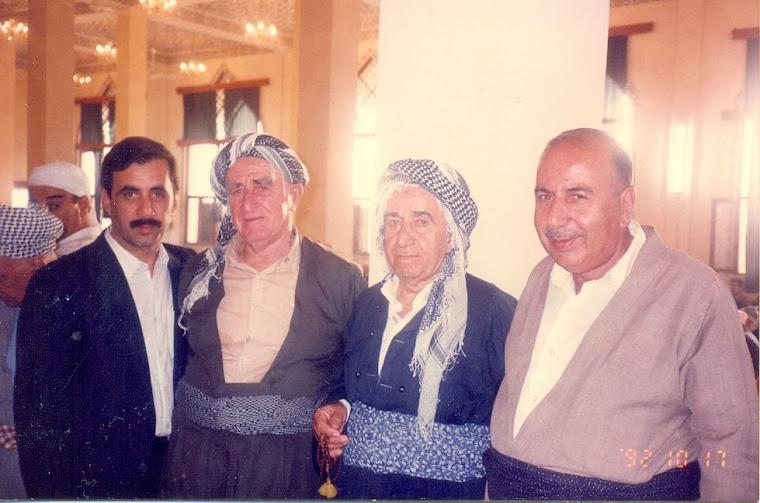 شهمسهالدین موفتی ، صالح شێره ، کاکه سور ، کهنعان موفتی