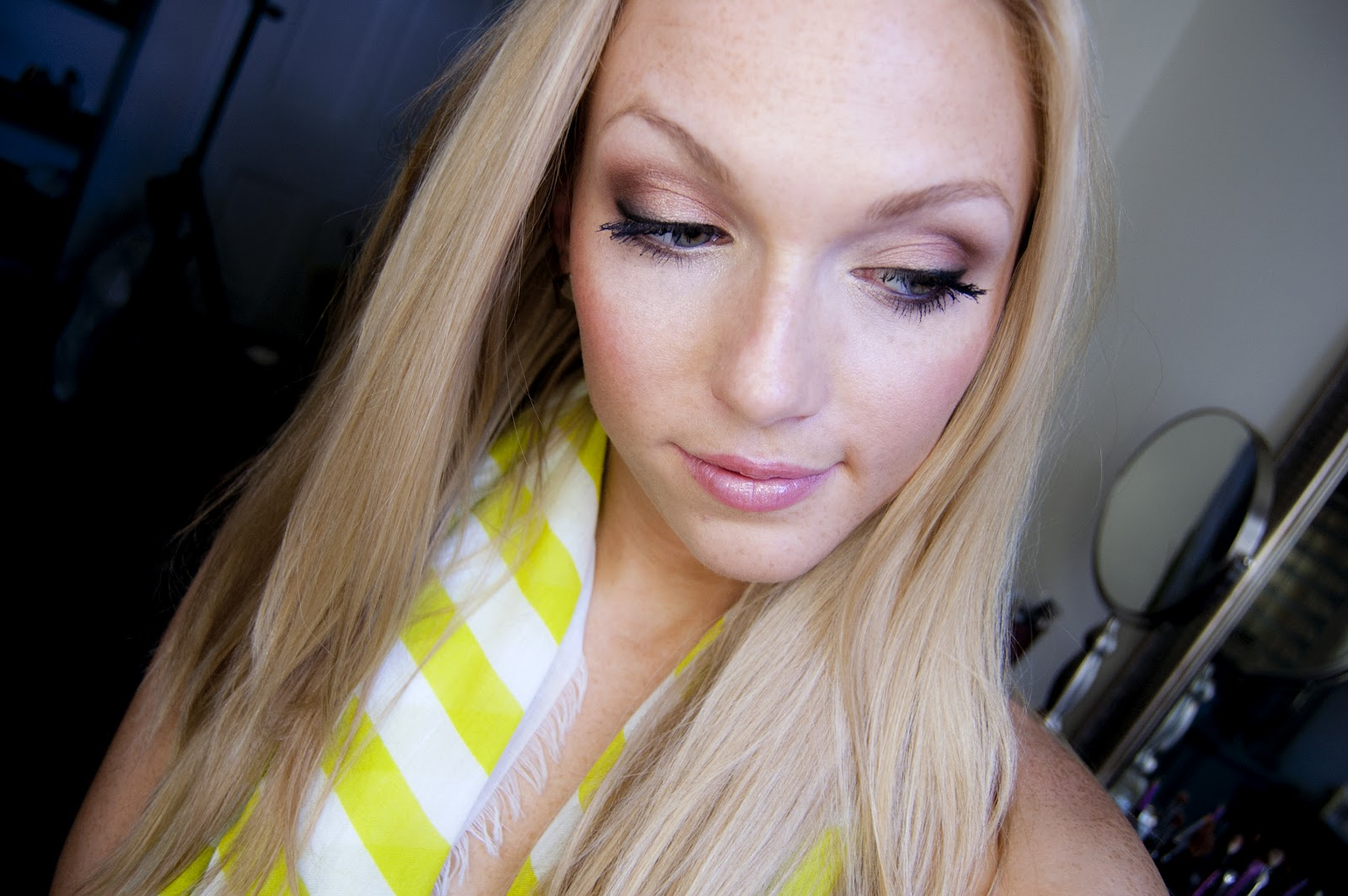Makeup By Alli: Shimmering Copper: Summer Makeup Tutorial