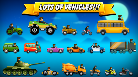 Hill Racing: mountain climb Apk v3.24 Mod [Unlimited Money]