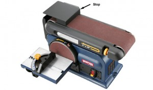 Do it yourself - Woodworking Tools - Portable Belt Sanders - Belt Sander as Bench Tool