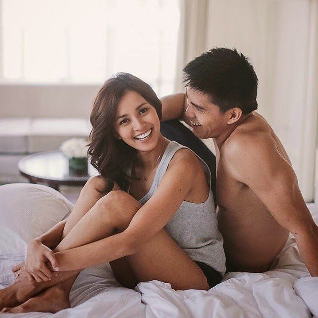 Bianca Gonzalez - JC Intal pre-nuptial photo