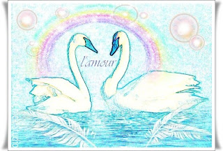 Love Swans Digital Art