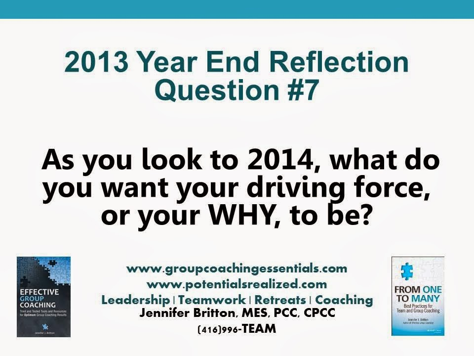 Group Coaching: Ins and Outs: Year End Reflection Questions and New ...