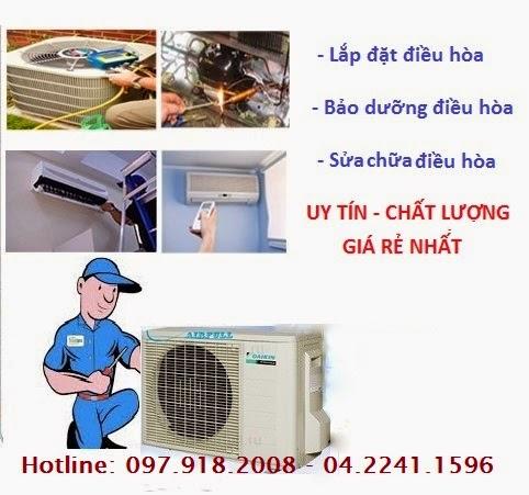 Nạp Gas Điều Hòa Giá Rẻ Tại Hà Nội