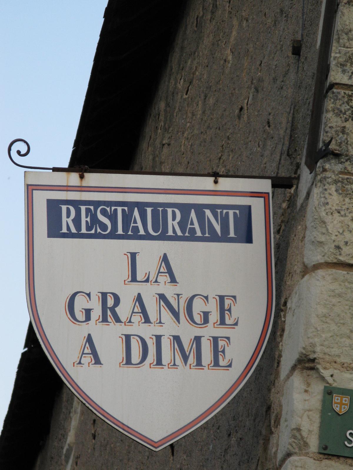C page et cuisine may 2011 - La grange a dime montreuil bellay ...