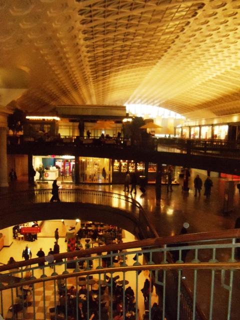 Union Station shopping, Washington DC