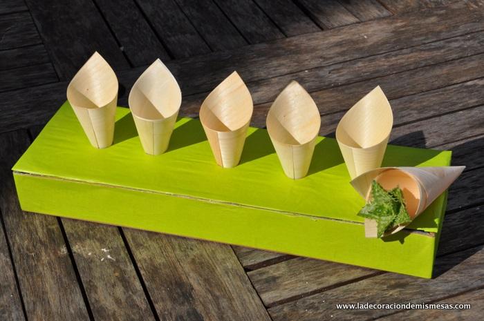 Como hacer un soporte para conos for Como puedo hacer un cono