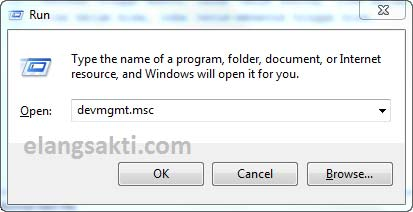 Cara membuka device manager WIndows