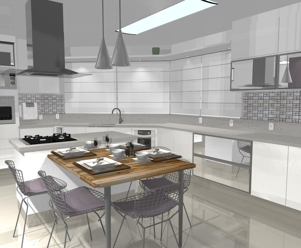 Armario Plastico Carrefour ~ Wibamp com Cozinha Planejada Com Pastilha De Inox ~ Idéias do Projeto da Cozinha para a Inspiraç u00e3o