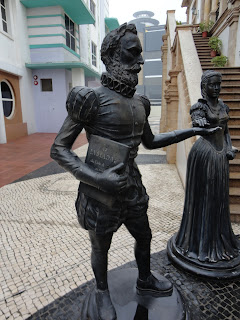 Doca dos pescadores Macau Luís de Camões