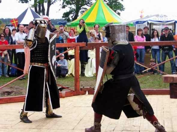 Knights tournaments in Nesvizh Castle