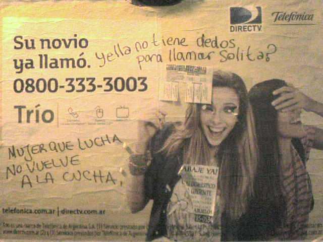 publicidad DirecTV-Telefónica sexista