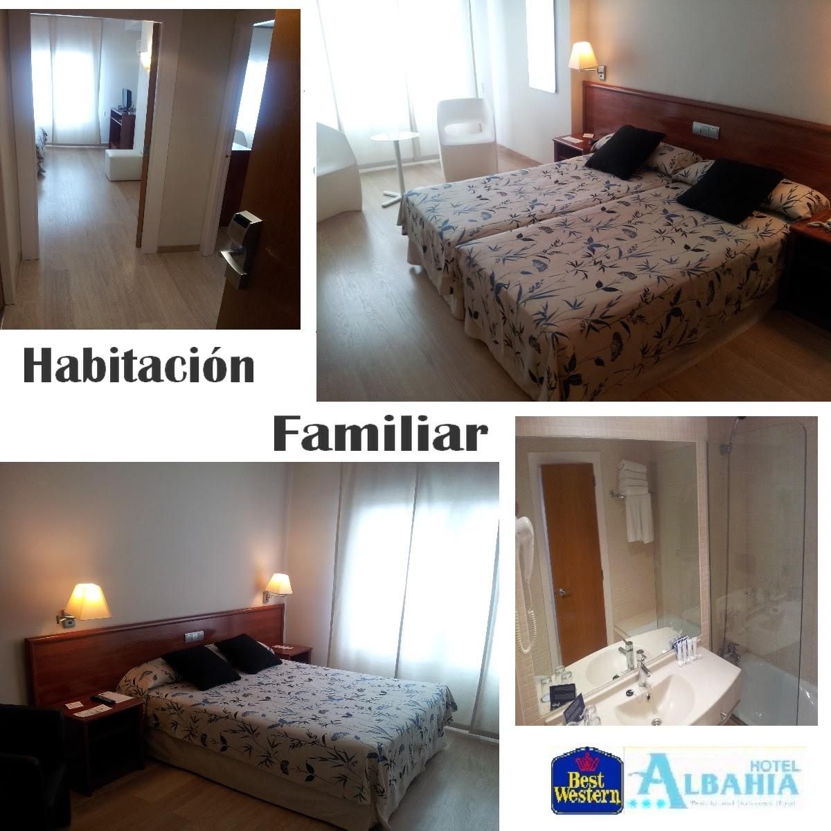 Best western hotel albahia alicante habitaci n familiar for Hotel habitacion familiar ibiza