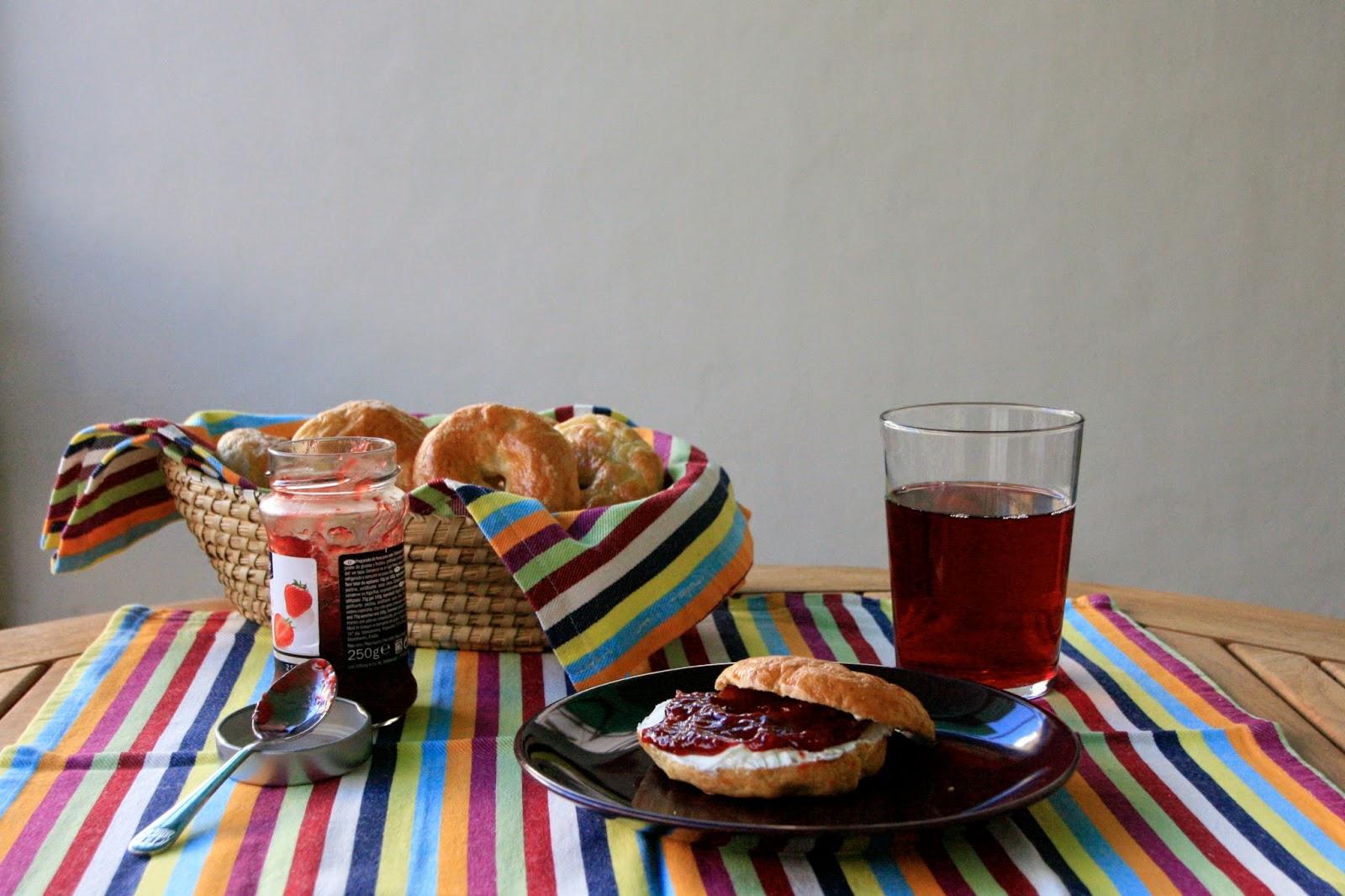 Bagels per esmorzar