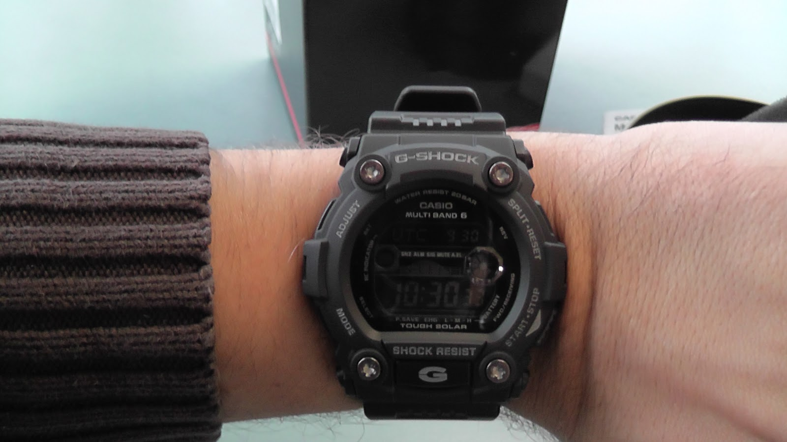 casio g shock gw 7900b manual