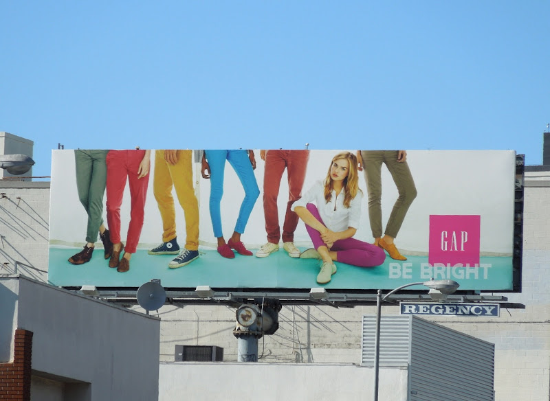 Gap Be Bright billboard