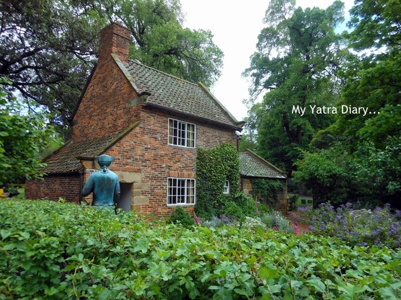Captain cooks cottage, Fitzroy Gardens, Melbourne Australia