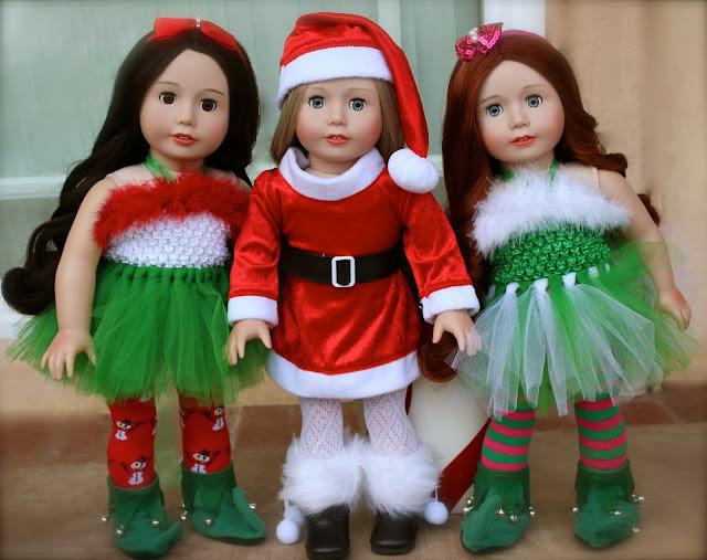 American Girl Christmas Santa