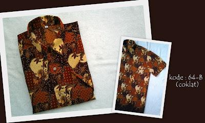 Baju Batik Pria 64B