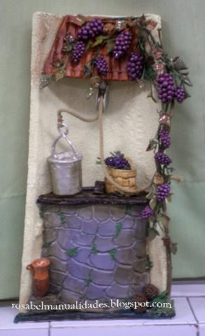 Rosabel manualidades tejas decoradas - Accesorios para decorar tejas ...
