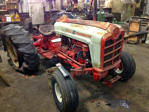 Ford 801 Power Master tractor parts
