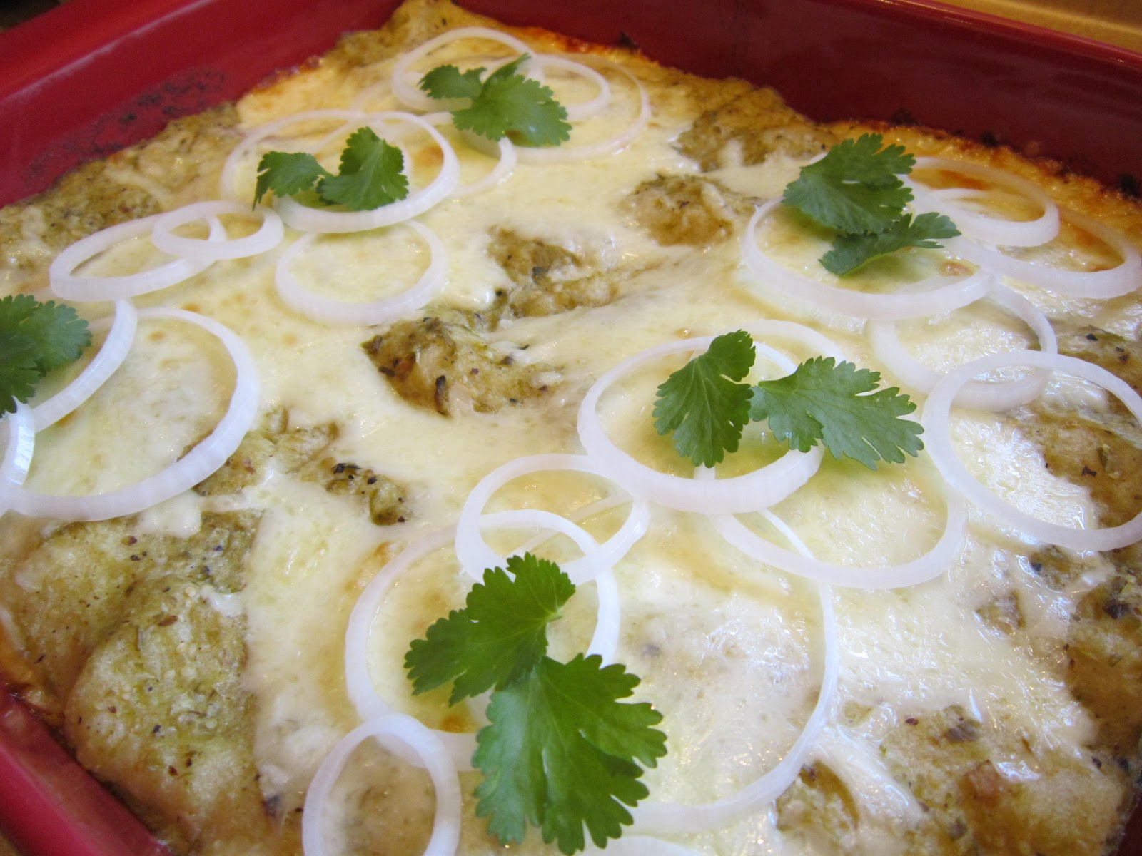 Enchiladas Suizas Recipe — Dishmaps