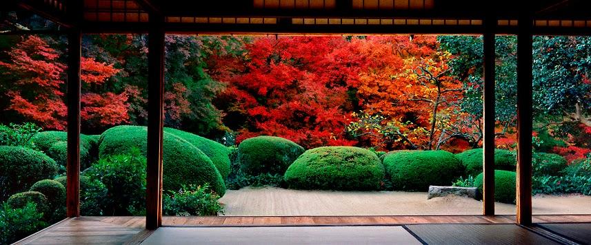 Kawabata shisendo durmientes la pipirrana for Jardin kyoto