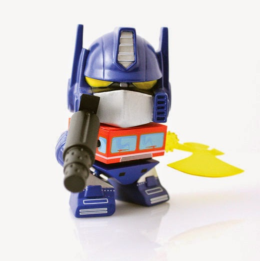 Gamestop Exclusive OG Optimus Prime Transformers Mini Figure by The Loyal Subjects