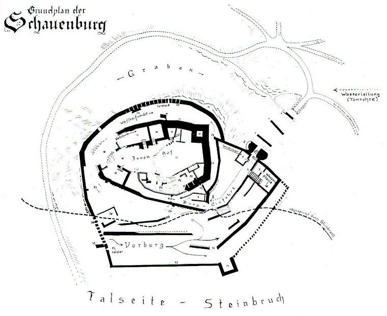 Grundriss von Alois Ridinger, 1959/60