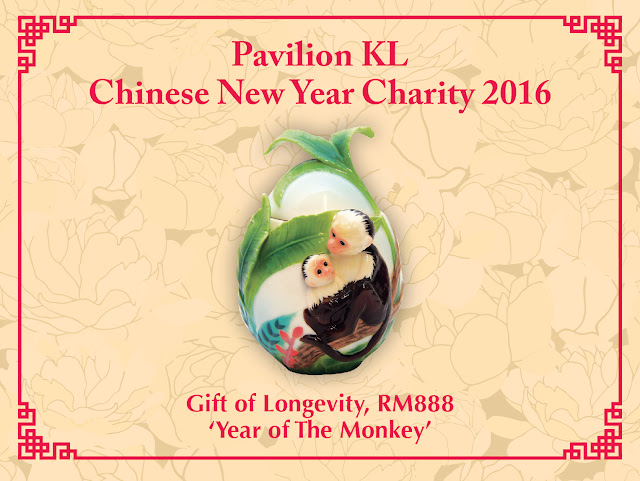 Gift of Longevity @ RM888, Pavilion KL Charity Drive