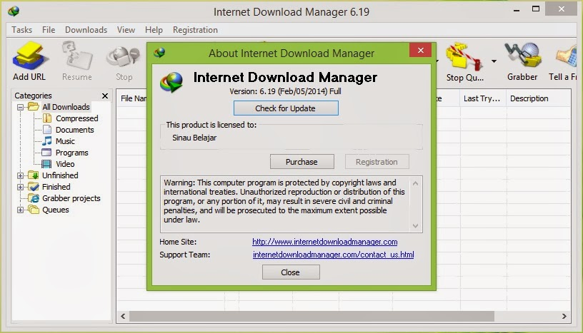 Download IDM 6.19 Full Version Terbaru