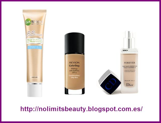 Bases de maquillaje y BB creams para pieles grasas