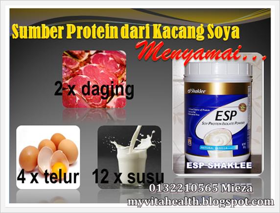 ESP Shaklee Sumber Protein Terbaik