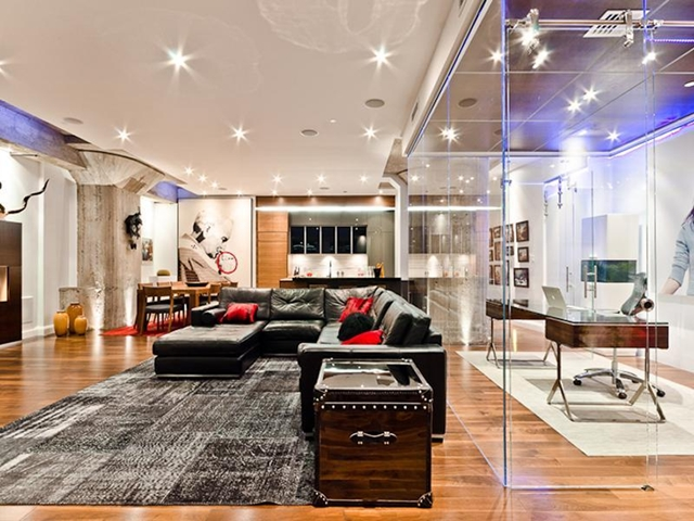 World Of Architecture Stunning Modern Apartment Montreal