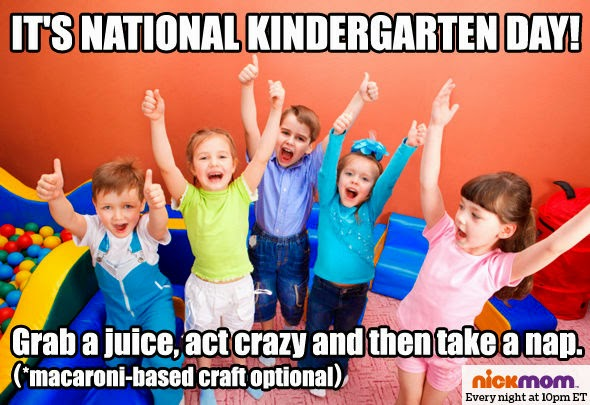 Happy National Kindergarten Day