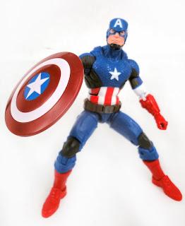 Hasbro Captain America Marvel Legends Marvel Now! Captain America Figure