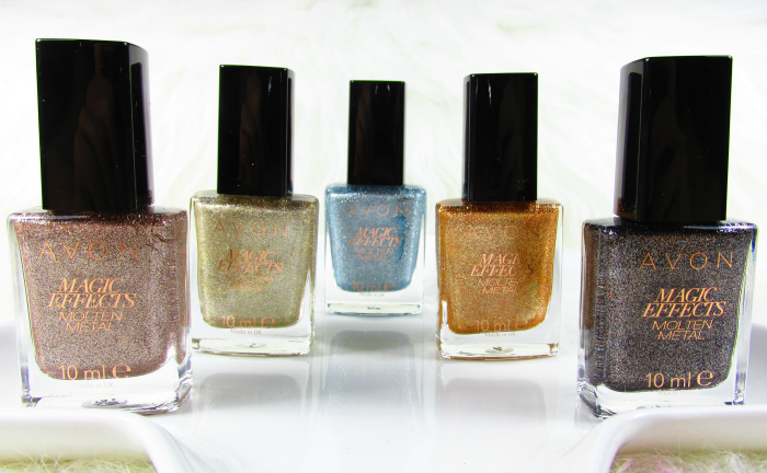Review: AVON Molten Metal Titanium - Gold -  Blue Steel - Copper - Graphite