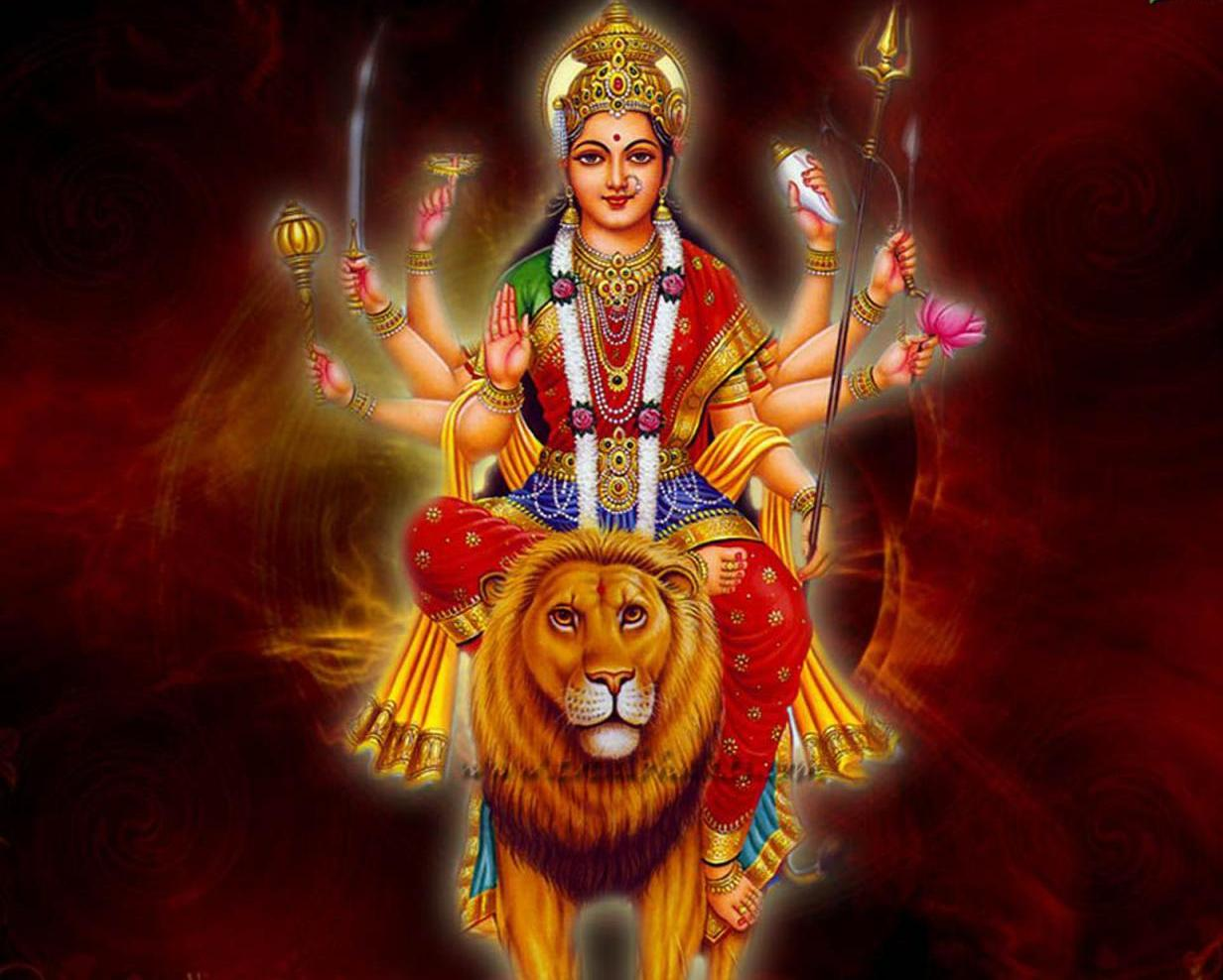 Hindu devotional wallpaper