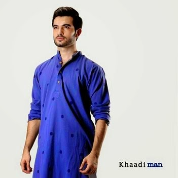 Khaadi Man Shalwar Suit Eid Collection 2014