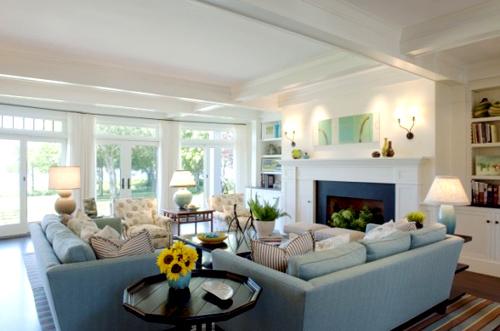 Hướng dẫn bố trí tivi cho phòng khách có Sofa 1