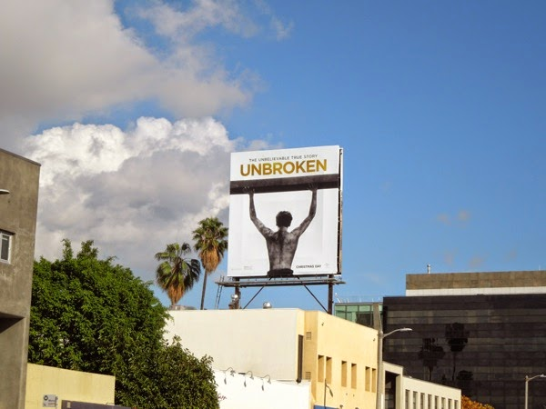 Unbroken film billboard