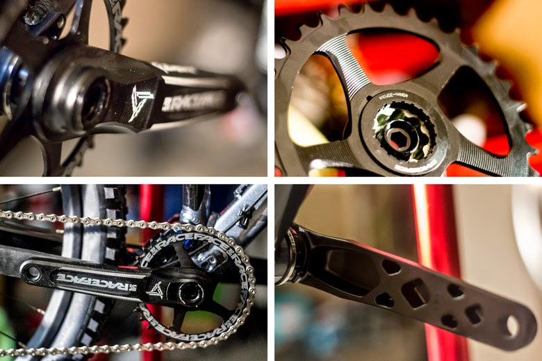 Race Face Turbine Crankset, product tested, race face crankset turbine
