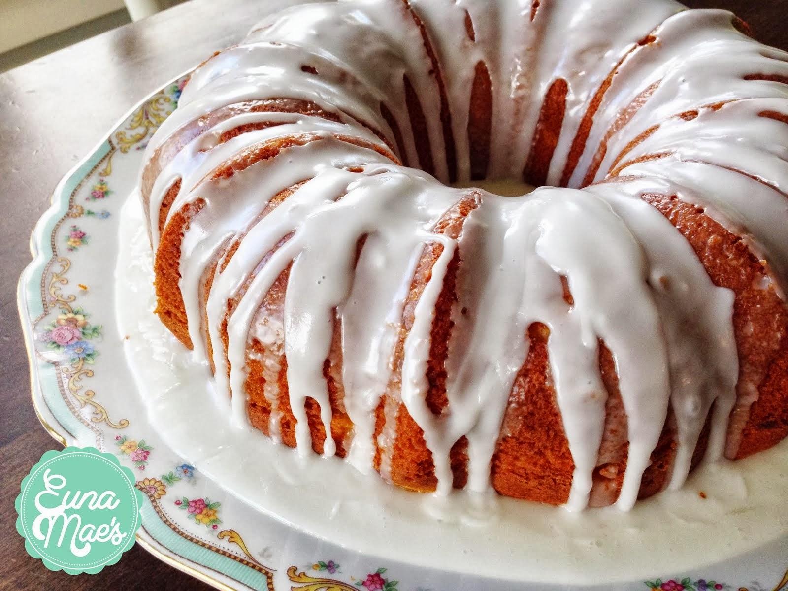 EM's Lemon Glazed Cake