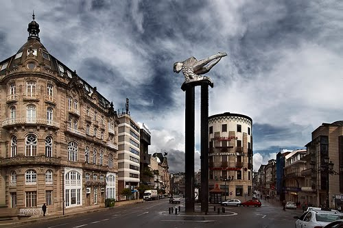 Puerta del Sol, Vigo.(Manuel Bóo))