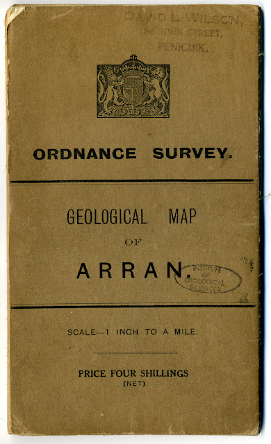Cover for 1:63,360 Special sheet Arran. Published 1910