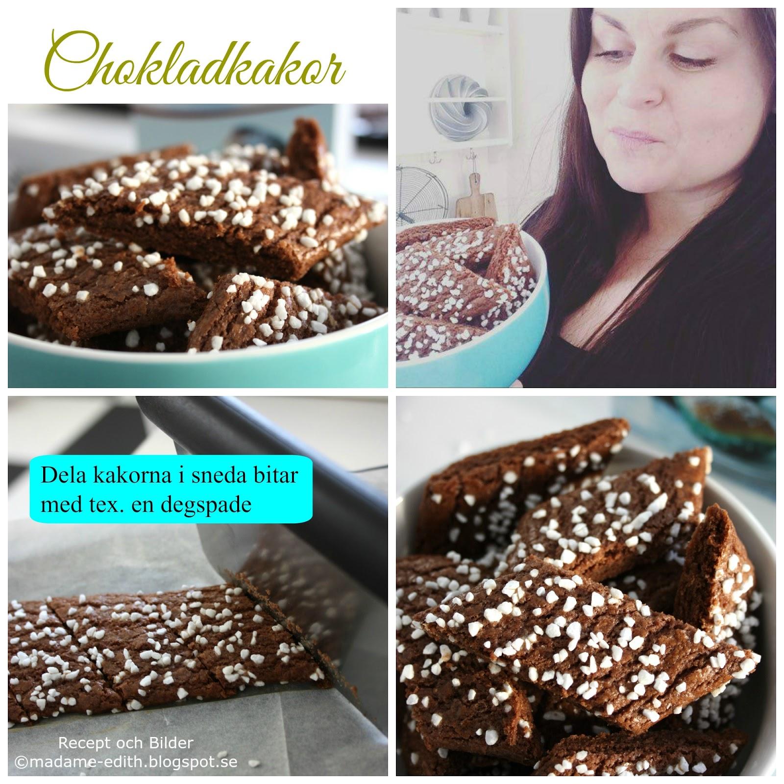 skurna chokladkakor recept