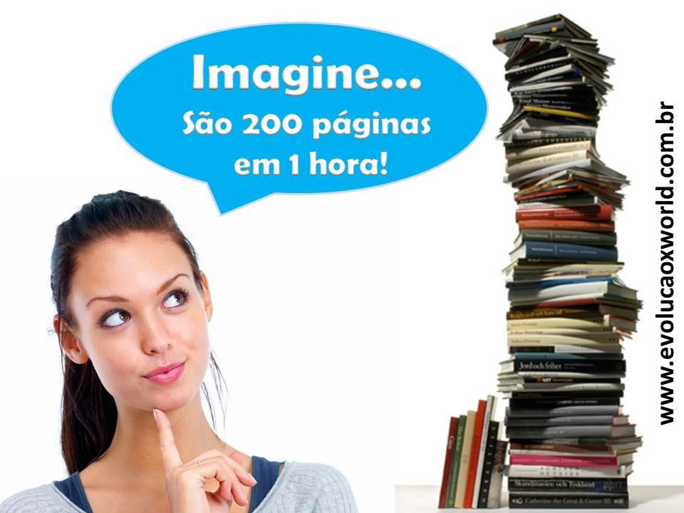 LEIA 200 PÁGINAS EM 1 HORA!