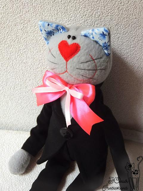 Игрушка котик жених